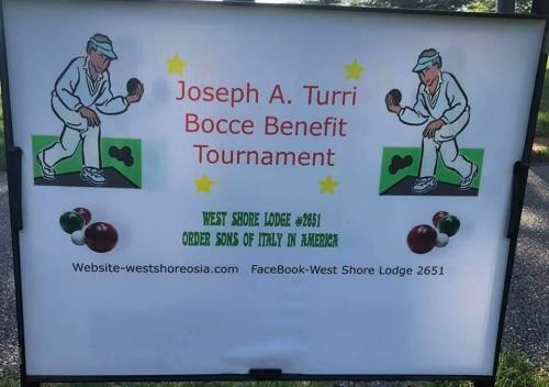 Joe Turri Bocce Tornament